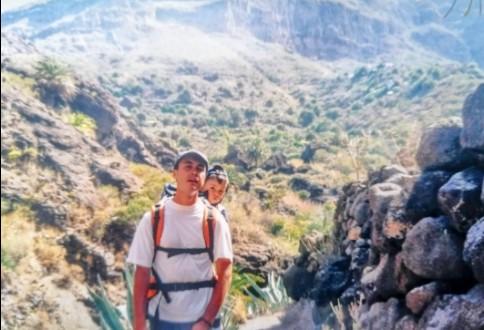 Barranco de Masca, senderismo, wandern,Gregorios Año 2000