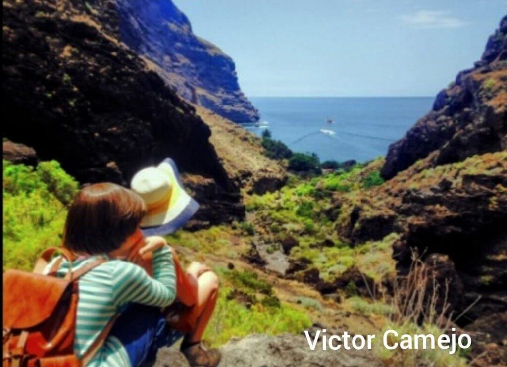 Barranco de Masca, senderismo. MASCA SCHLUCHT Gregorios trekking Tenerife