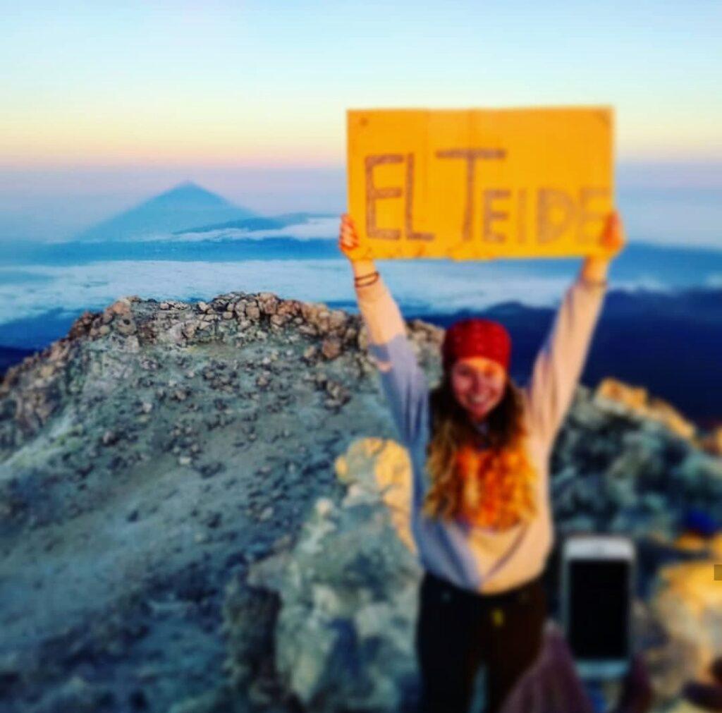 Teide pico permiso, Teide top genemigung, Teide top permit. Gregorios trekking